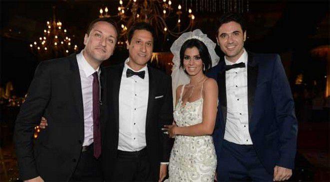 أحمد عز يحتفل بزفاف شقيقه (7)