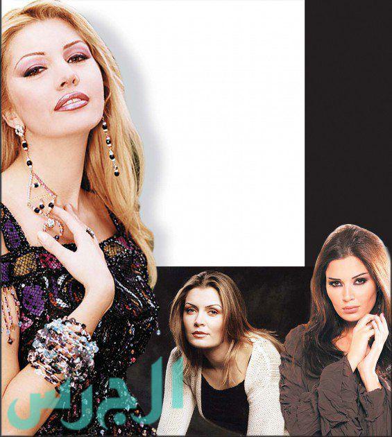 فرنجية وتبدو زوجة نحاس وشقيقتها سيرين عبد النور