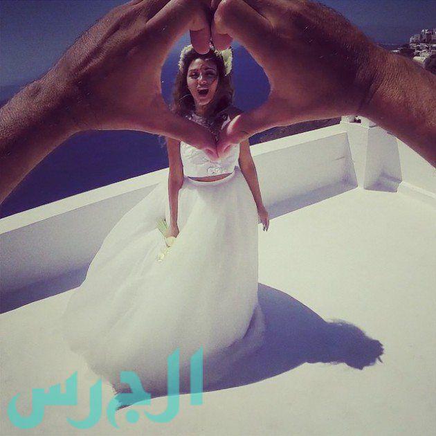 الصورة الأولى الواضحة لزوج ميريام فارس تقتحم الإنترنت!