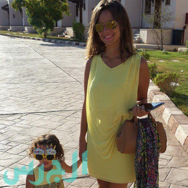 إيمان العاصي وابنتها ريتاج (10)