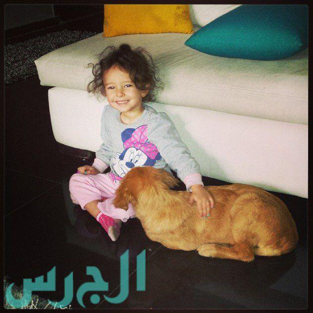 إيمان العاصي وابنتها ريتاج (19)