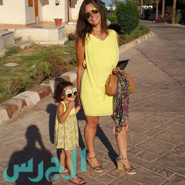 إيمان العاصي وابنتها ريتاج (5)