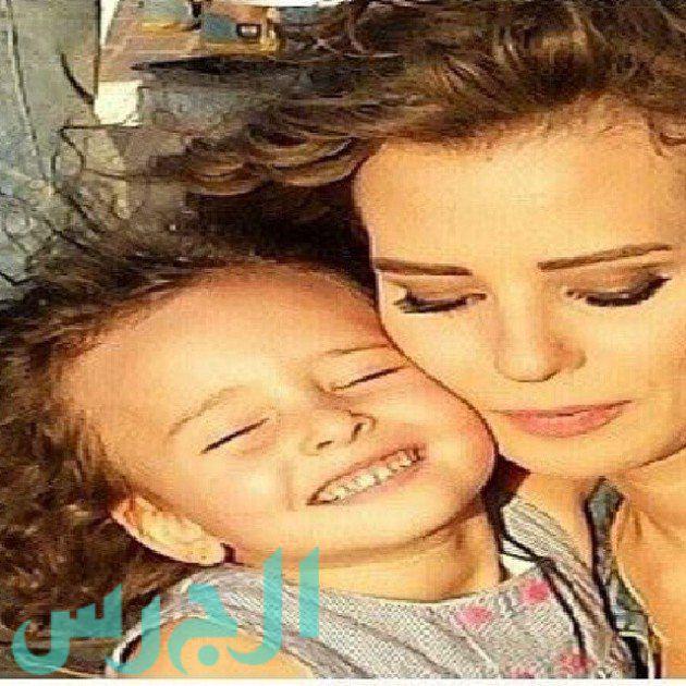 إيمان العاصي وابنتها ريتاج (6)