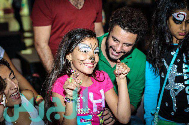 أحمد الفيشاوي وابنته