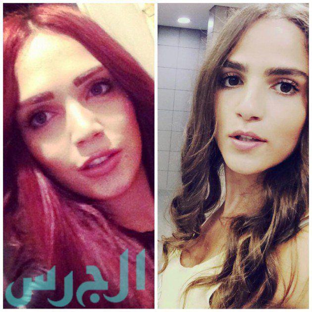 لينا دياب وشقيقتها
