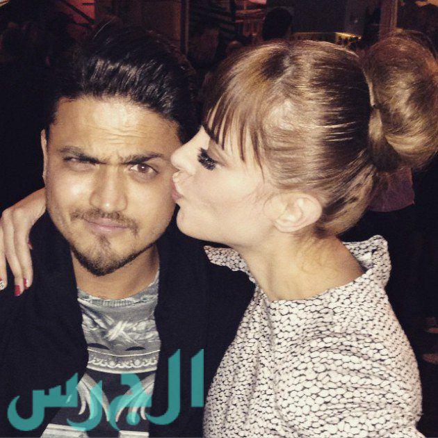 بالصور الشبه الكبير بين بسمة بوسيل زوجة تامر حسني وبين زوجة المطرب هيثم سعيد 2015