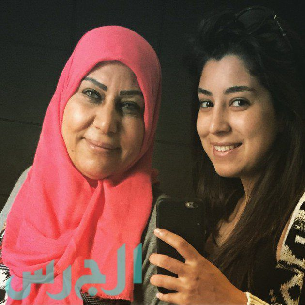 آيتن عامر ووالدتها