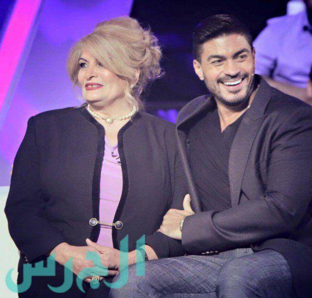 خالد سليم ووالدته