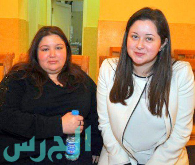 بالصور: الظهور الأول لابنة نور الشريف بعد زواجها