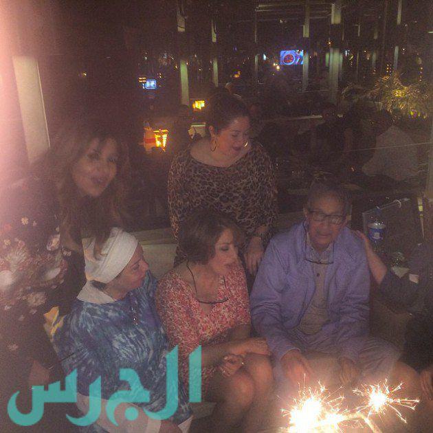 بوسي ونور الشريف وبوسي شلبي ونورا