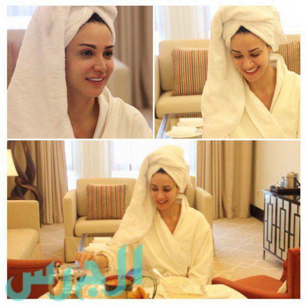 لأول مرة ديانا حداد تنشر صورتها بملابس الإستحمام!
