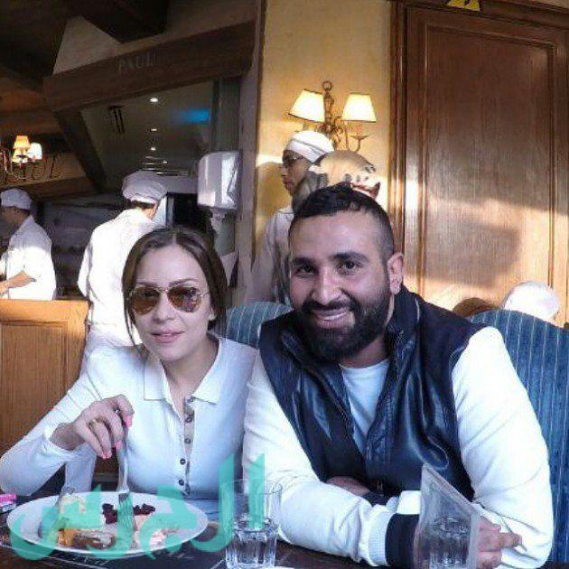 ريم البارودي وأحمد سعد (1)