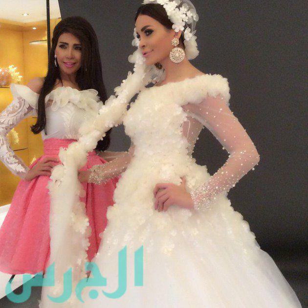 بالصور: زفاف دومنيك حوراني للمرة الثانية