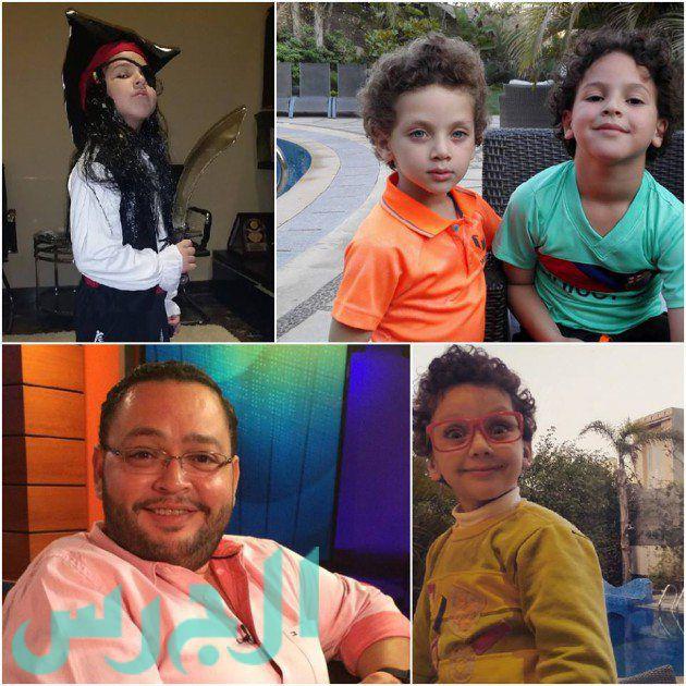 بالصورة: جمال أطفال أحمد رزق يبهر جمهوره!