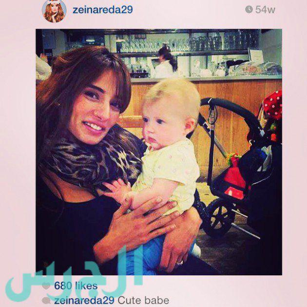 زينة: هذا الطفل ليس ابن أحمد عز!