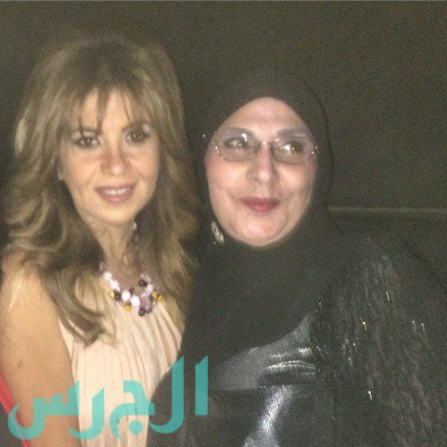 بالصورة: أحدث ظهور لشقيقة سعاد حسني