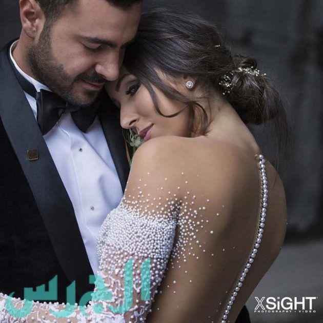 بالصور: زفاف شقيقة دانييلا رحمة وفستانها أبهر الجميع!