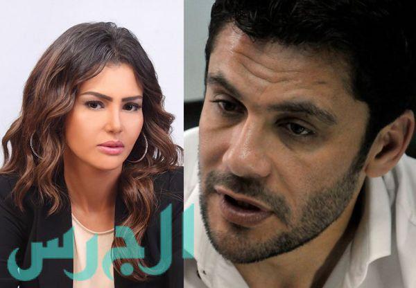 دينا فؤاد وأحمد حسن