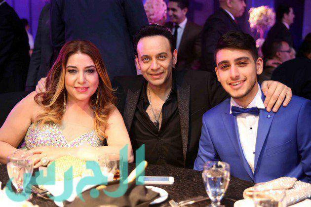 مصطفى قمر وعائلته