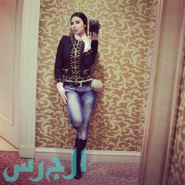 جيهان شقيقة ميريام فارس وصورة غير موفقة خصوصاً الوجه