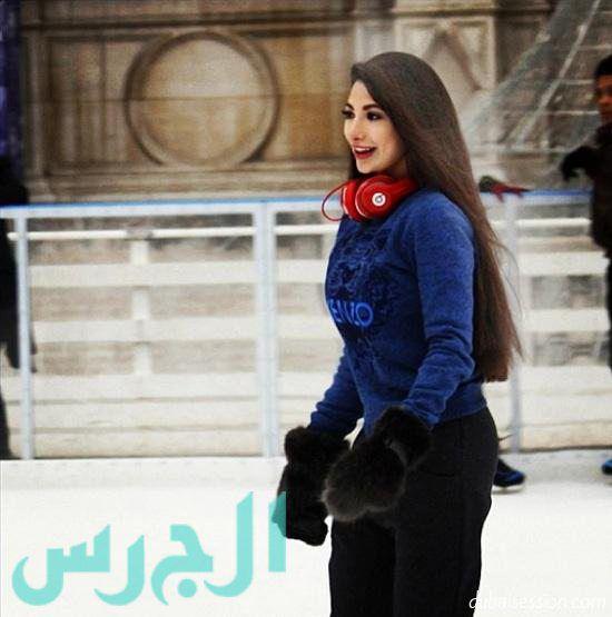 جيهان شقيقة ميريام فارس لا رياضة مشي بدون سماعات الموسيقى