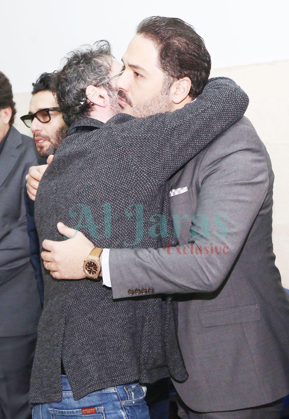 المخرج سعيد الماروق رامي عياش