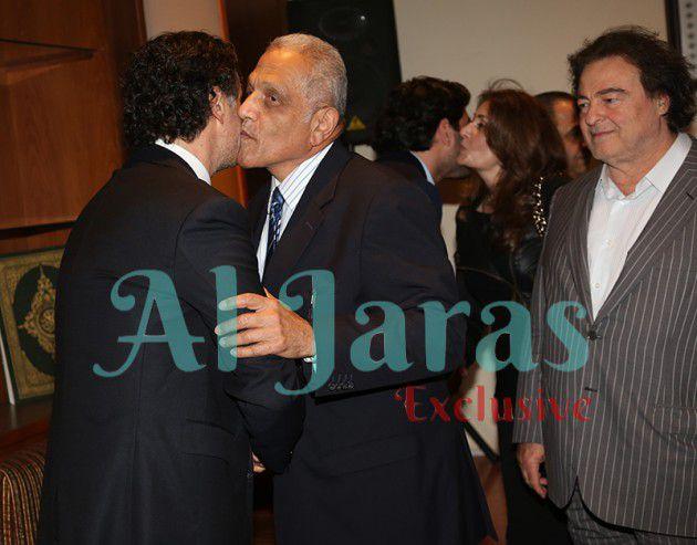 السفير المصري السابق حسين ضرار معزياً