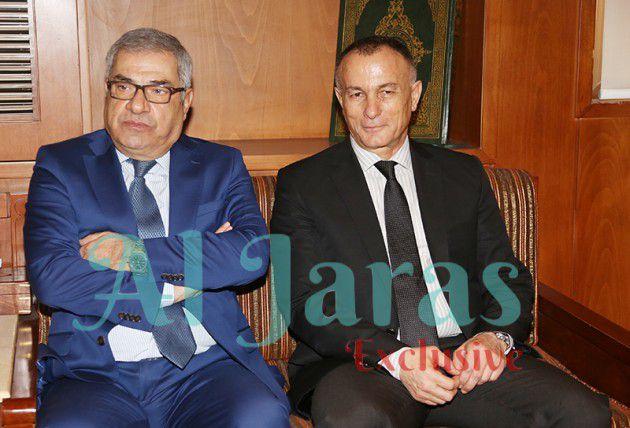 العميد شامل روكز والوزير عبدالمطلب الحناوي