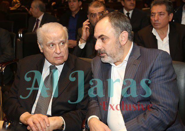 النائب زياد أسود والوزير السابق الياس حنا