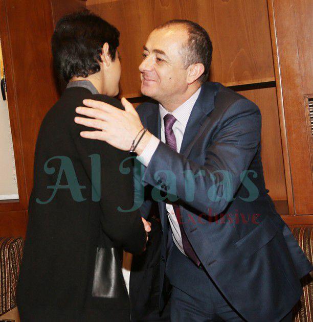الوزير الياس بو صعب معزياً لؤي إبن راغب