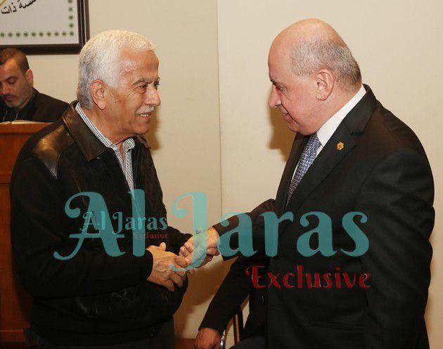 رئيس اتحاد كرة القدم رهيف علامة