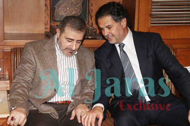 راغب والحاج وفيق صفا يدردشان
