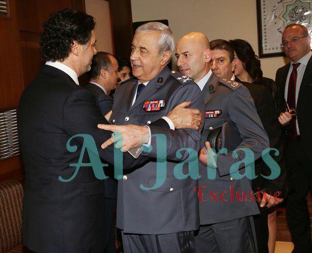 مدير عام الأمن الداخلي العميد ابراهيم بصبوص