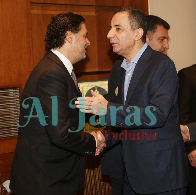 مستشار الرئيس نبيه بري أحمد بعلبكي يعزي راغب علامة