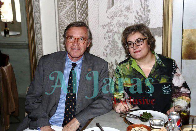 السفير السويسري فيفي ديب