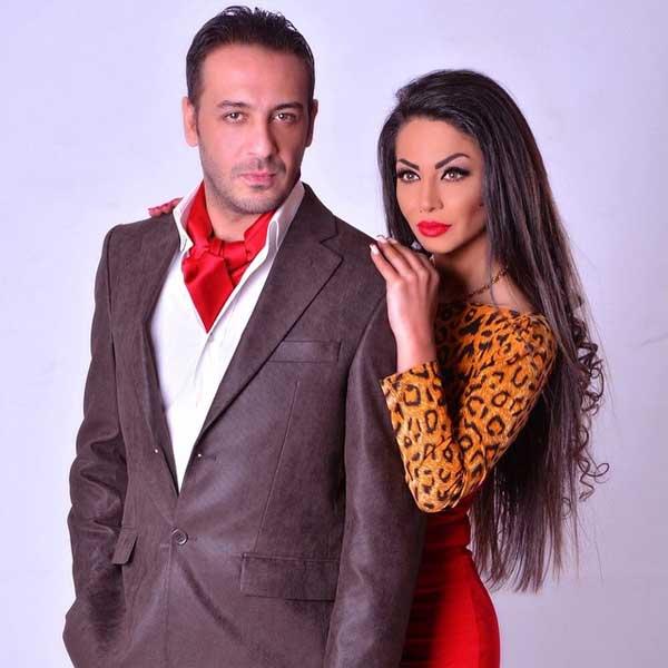 النجمة دوللي شاهين وزوجها المخرج باخوس علوان