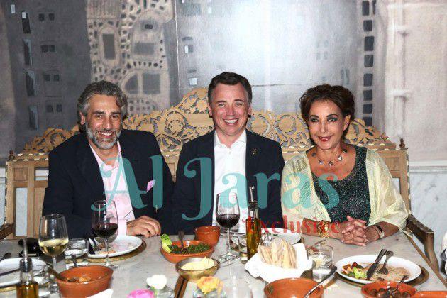 راغدة ضرغام نيكولا بودي سعد عودة