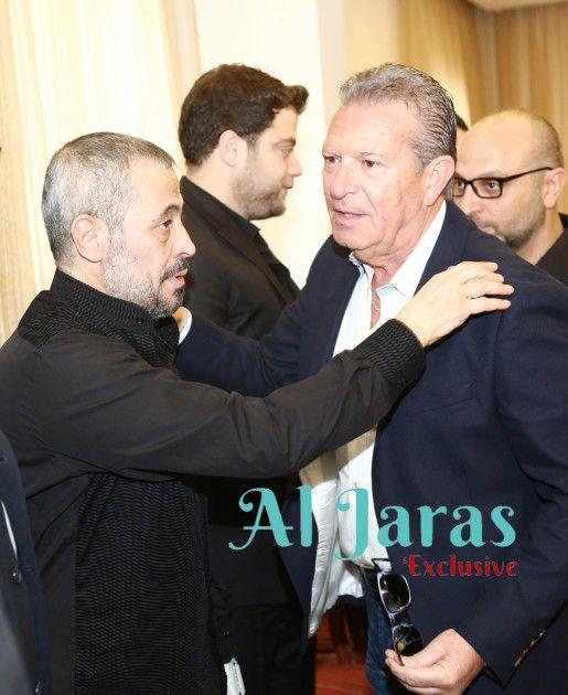 جيجي لامارا ممثلاً ناني عجرم يعزي الوسوف