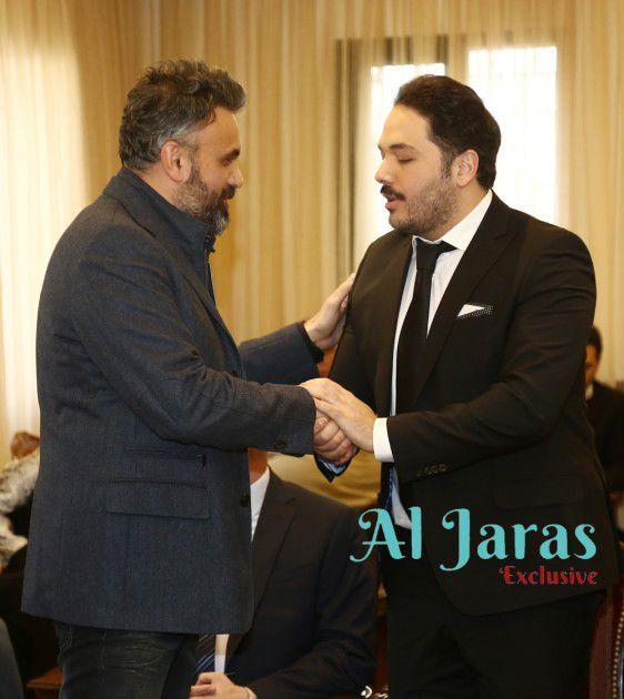 رامي عياش والمخرج كميل طانيوس