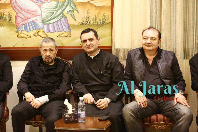 رجل الأعمال السوري بسام المصري، الأب آغابيوس نعوس والوسوف