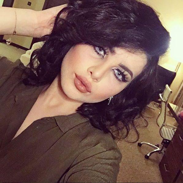 حنان الخضر قصت شعرها