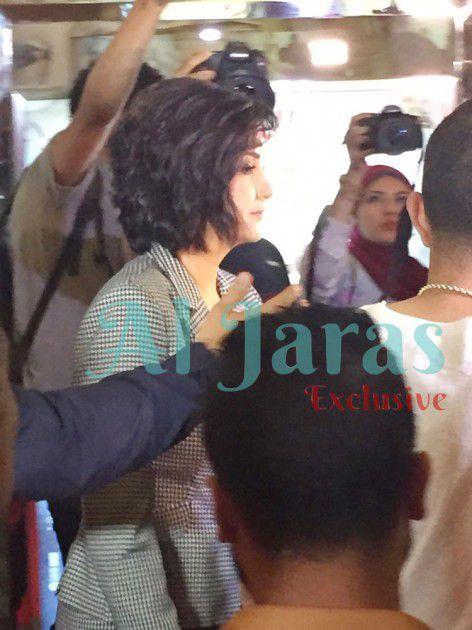 النجمة المصرية غادة عبد الرازق
