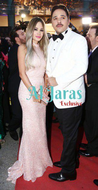 البوب ستار رامي عياش وزوجته الجميلة داليدا