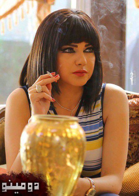 صفاء سلطان Sexy وتدخن السيجارة