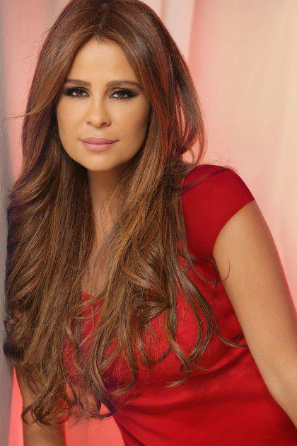 النجمة اللبنانية كارول سماحة