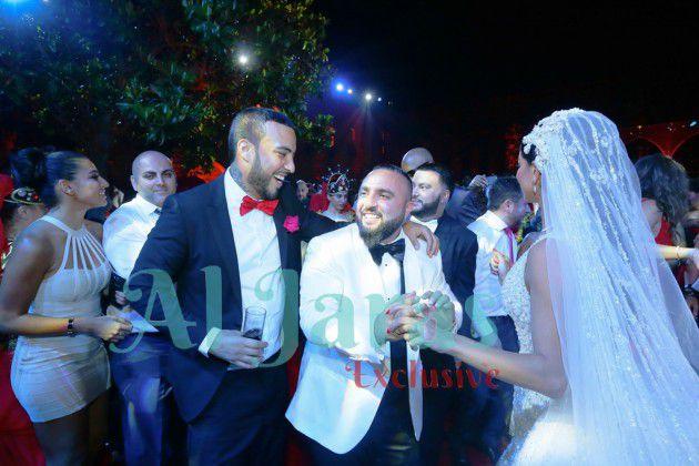 ريما فقية ووسام صليبي يرقصان بسعادة