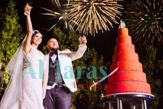 ريما فقيه ووسام يحتفلان بعرسهما الأسطوري