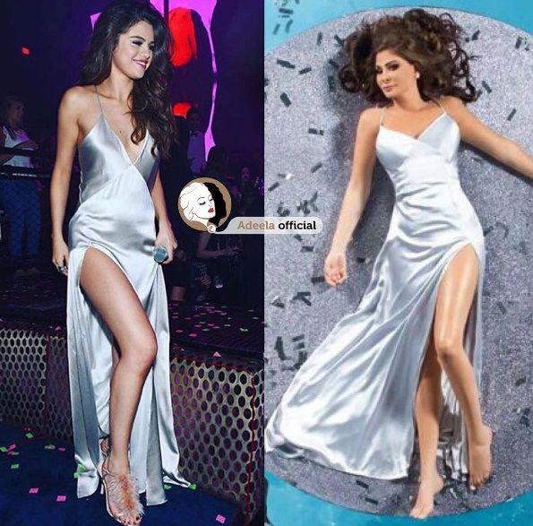 إليسا ترتدي فستان سيلينا غوميز