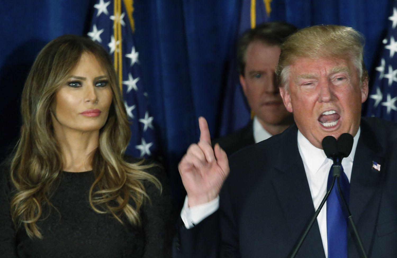 #ترامب يقرر إبقاء زوجته ميلانيا و إبنه للعيش في نيويورك لوحدهما و السبب غريب جدا