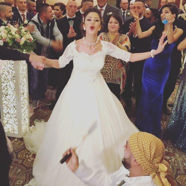 زفاف ليان بزلميط وترقص فرحاً
